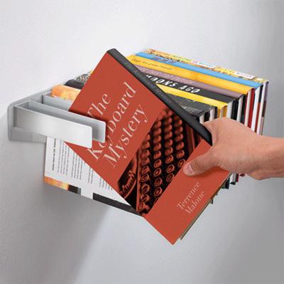 Một kiểu kệ sách độc đáo, bao đẹp :)