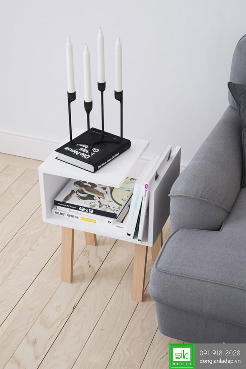 Kệ sách , trang trí đầu giường