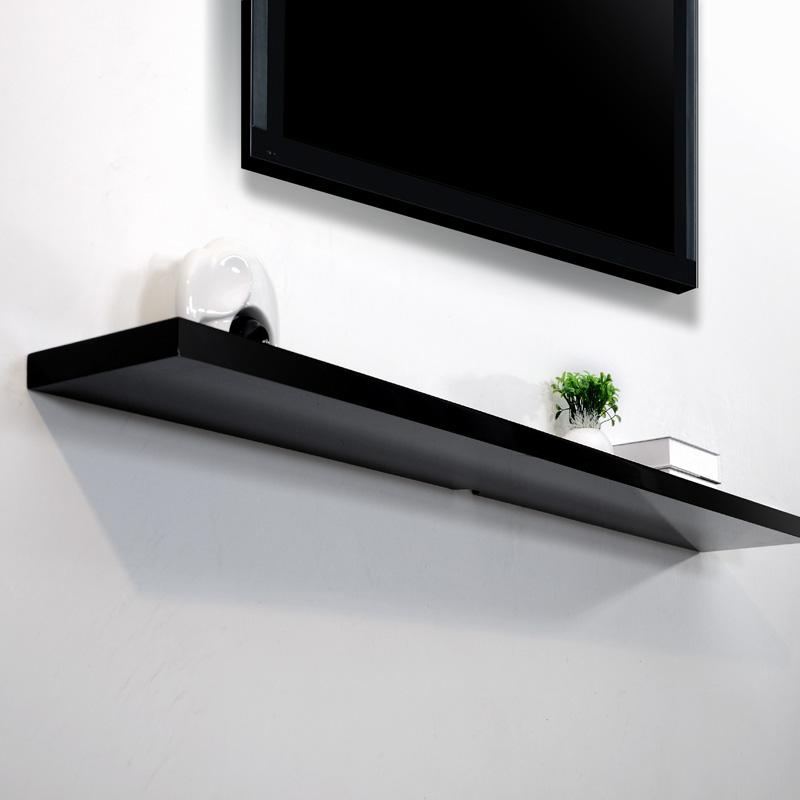 Kệ tivi thanh ngang màu đen