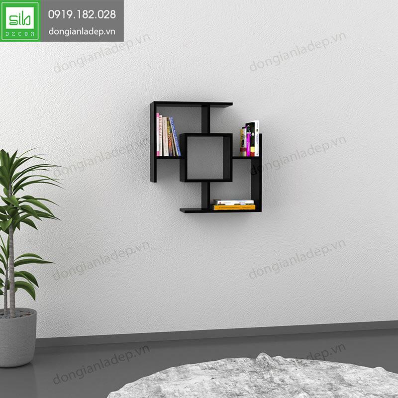 Kệ treo tường KT144 màu đen