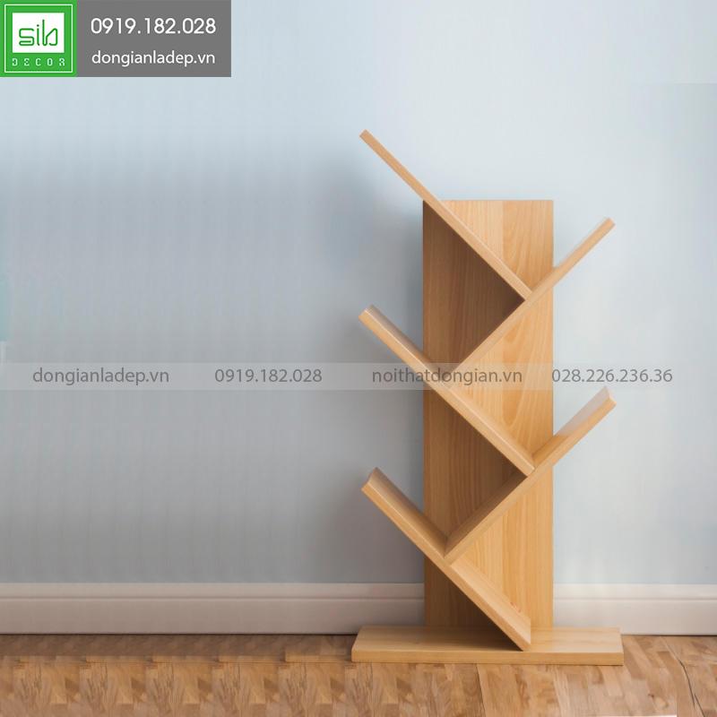 Đơn giản với màu vân gỗ