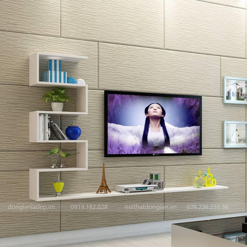 Kệ tivi TV130 màu trắng