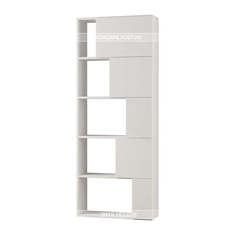 tủ sách có thiết kế tự đứng vững