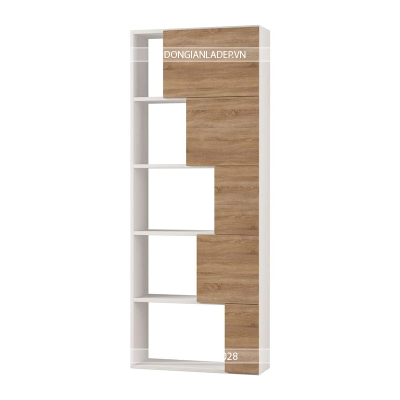 Mặc dù tủ sách có thiết kế tự đứng vững nhưng SIB vẫn khuyến cáo nên gắn cố định kệ sát tường