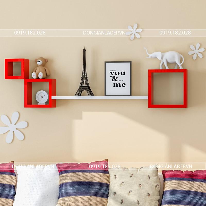 Kệ treo tường trang trí đơn giản