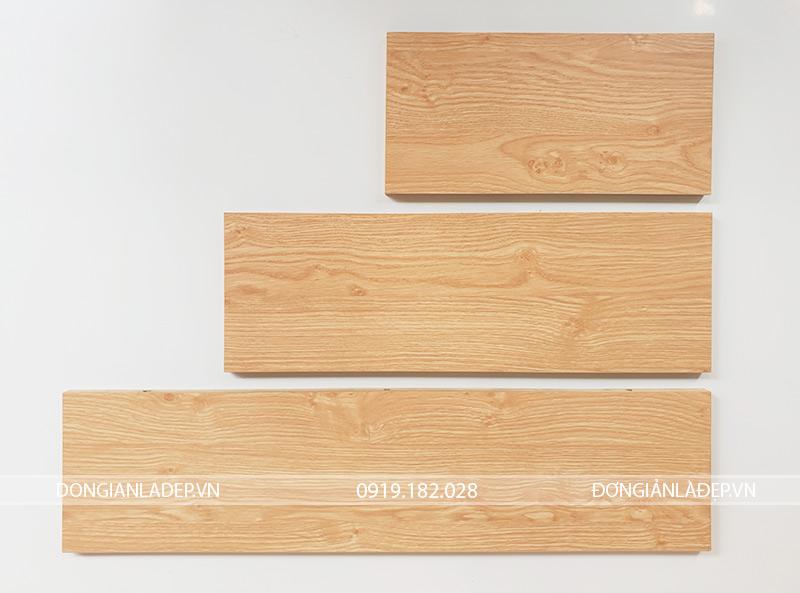 Màu vân gỗ sồi (Oak) rất phổ biến và thường dùng cho nội thất hiện đại.