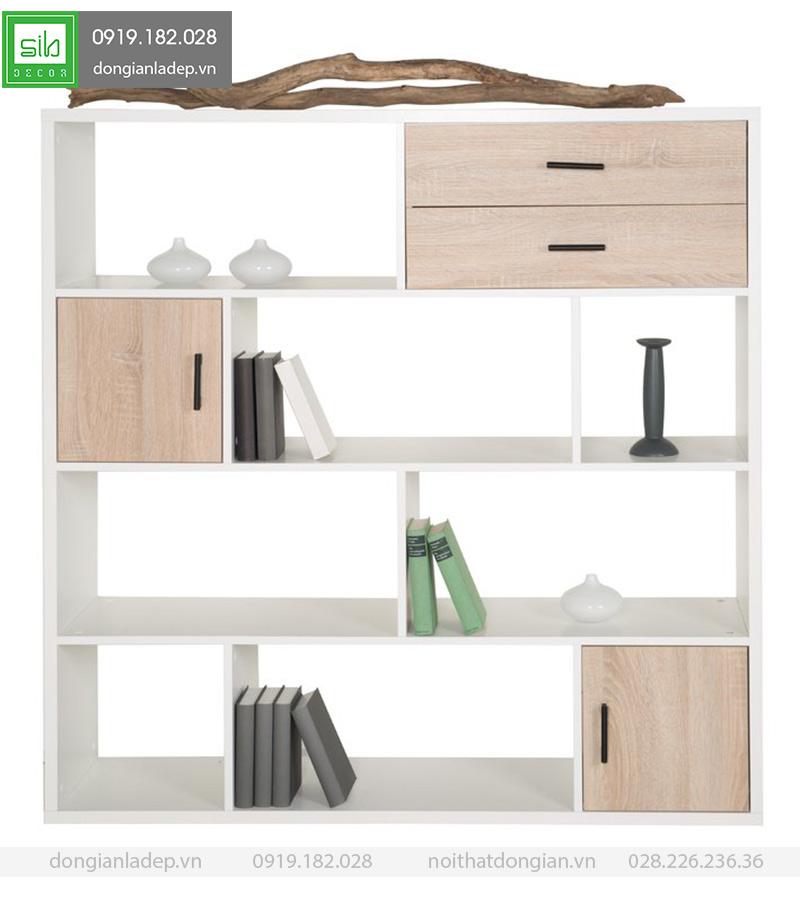 Một mẫu tủ sách đơn giản mà đẹp đến lạ.