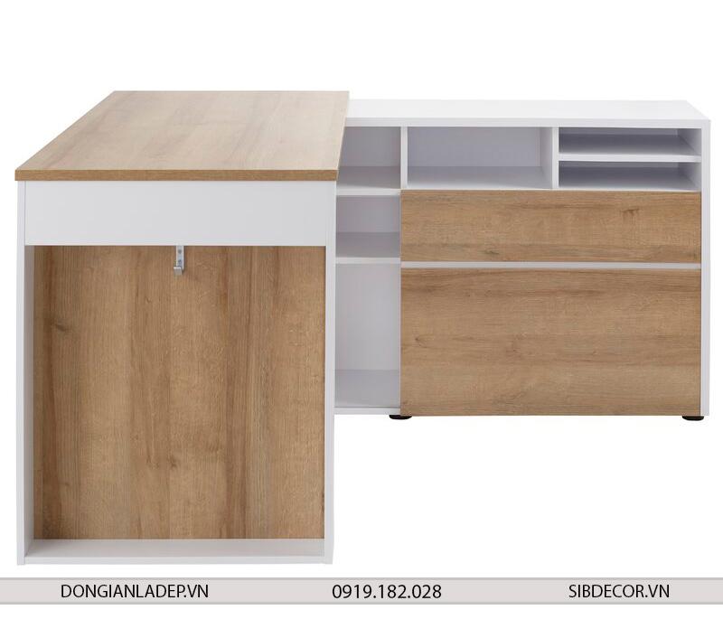 Kích thước bàn làm việc lớn cho không gian làm việc thoải mái