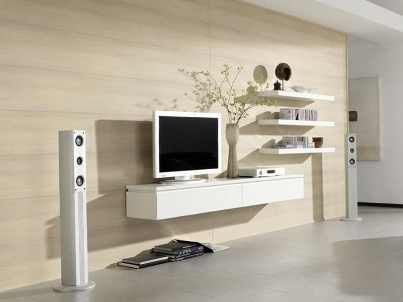 Tông màu trắng tạo sự thoáng mát và thoải mái cho căn phòng