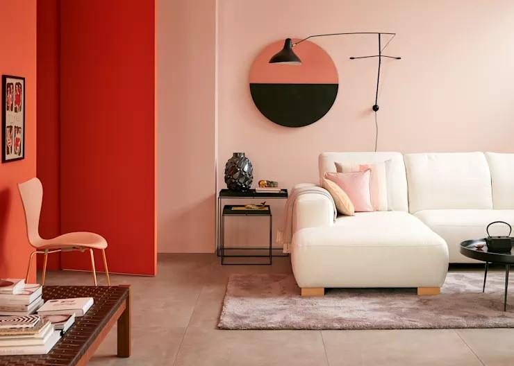 Cách phối màu sơn tinh tế, sang trọng cho phòng khách