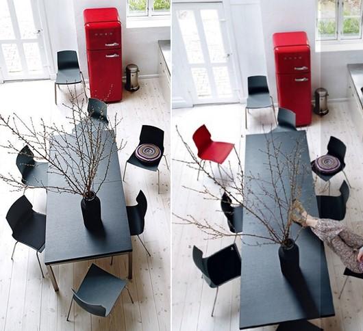 Từ mẫu bàn chỉ vài người ngồi, có thể dài ra cho chục người