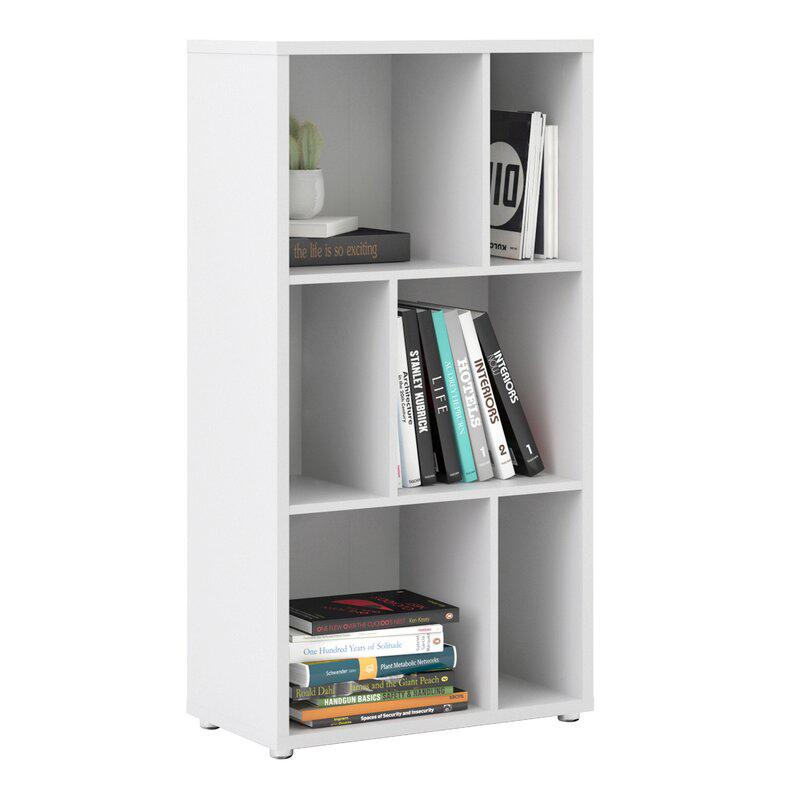 Tủ sách văn phòng KS295 gồm 3 tầng, chiều cao lọt lòng mỗi tầng 36.5cm phù hợp với nhiều khổ tài liệu lớn.
