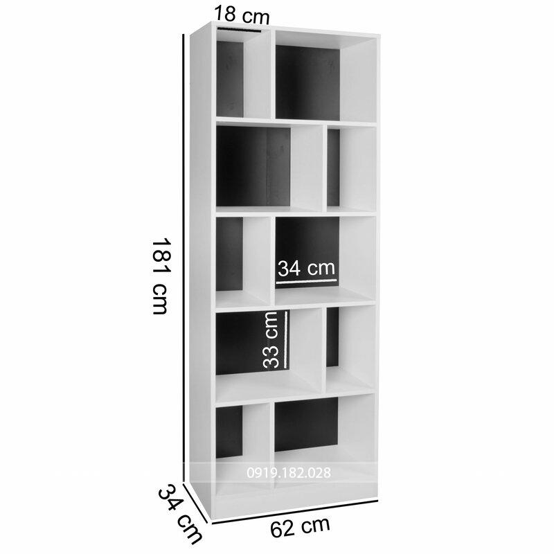Kích thước kệ tủ sách KS294