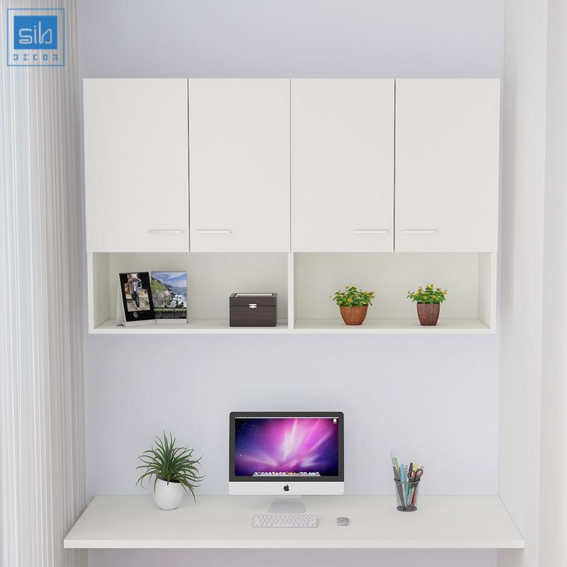 Bộ combo tủ sách và bàn làm việc gấp gọn đơn giản, chất lượng và hiệu quả.