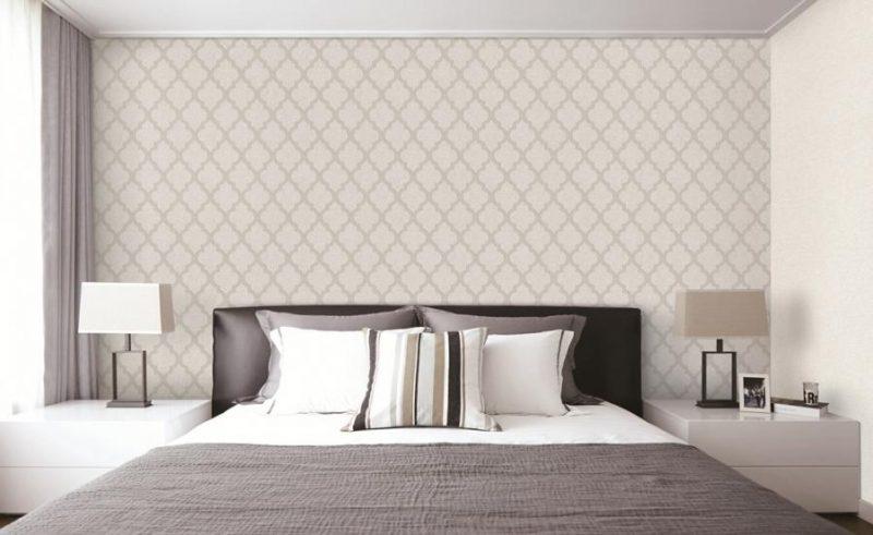 Giấy dán tường tạo nét riêng độc đáo cho căn phòng
