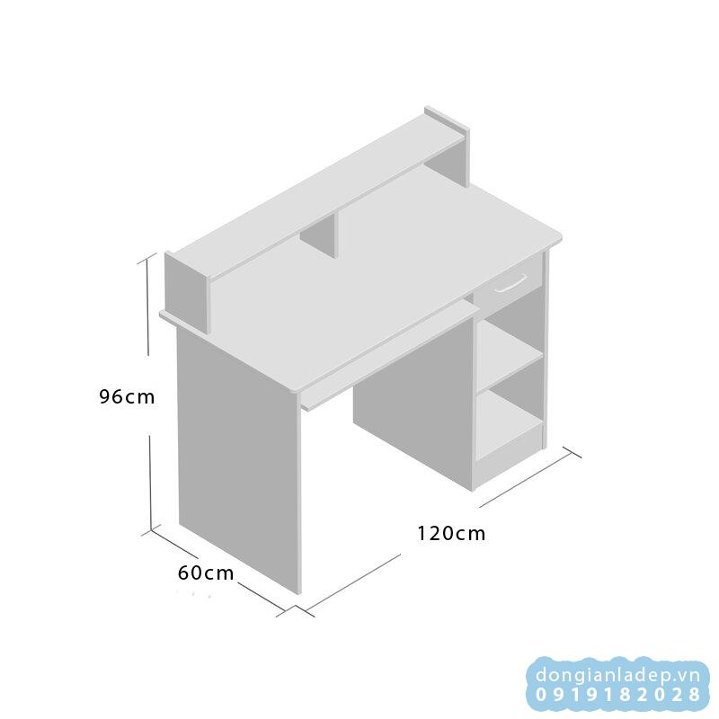 Kích thước bàn làm việc BLV42