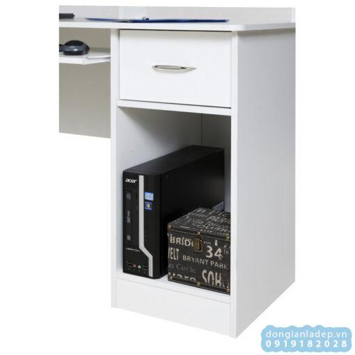 Có 1 ngăn di động có thể tháo rời khi cần để PC