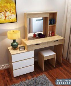 Bộ bàn trang điểm thiết kế hiện đại cho phòng ngủ của các nàng.