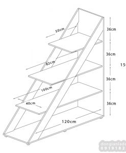 Kích thước của kệ bậc thang KS302