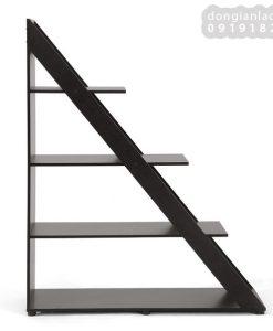 Kệ bậc thang KS302 màu vân gỗ cà phê
