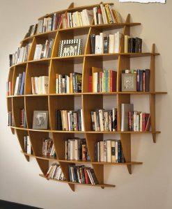 Kích thước kệ thiết kế tối ưu cho những cuốn sách. Khả năng chịu lực lên đến 200kg