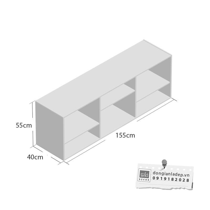 Kích thước kệ TV55
