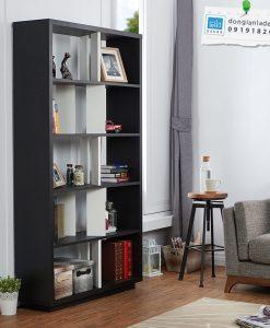 Kệ sách chiều cao 180cm, thiết kế 5 tầng (mỗi tầng lọt lòng 32cm, thích hợp để tài liệu).