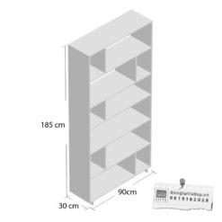 Kích thước kệ sách KS253