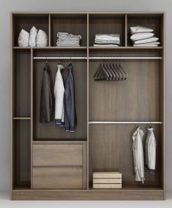 Tủ áo An Cường thiết kế hiện đại, tinh tế
