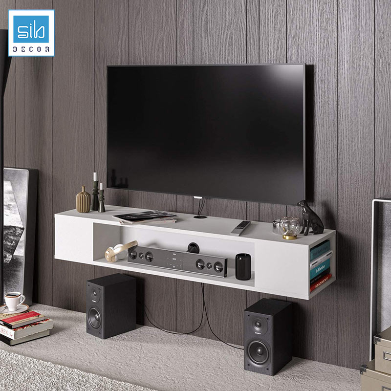 Kệ tivi TV48 màu trắng
