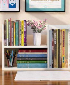 Để sách, đồ trang trí, chậu cây, vật dụng văn phòng