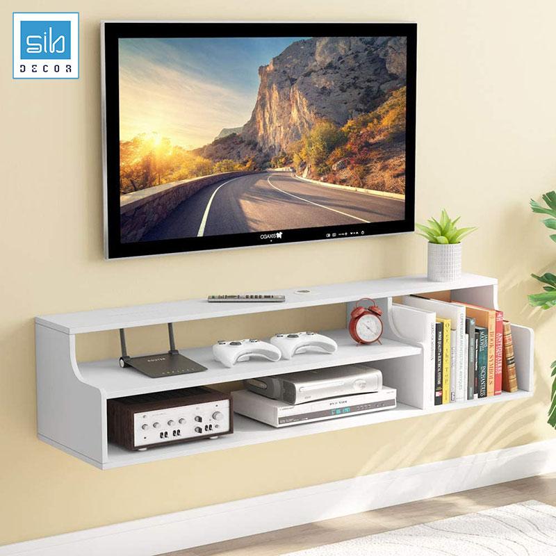 Kệ tivi trang trí treo tường TV79 đơn giản mà đẹp