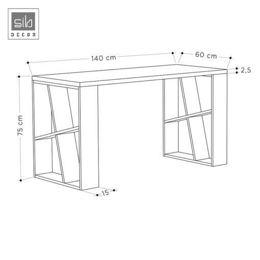Kích thước bàn làm việc hiện đại BLV51