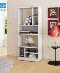 Tủ Sách Gỗ đơn giản cho phòng khách