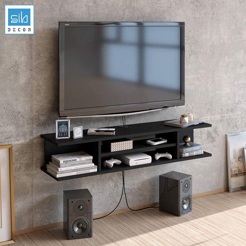 Kệ trang trí TV74 màu đen