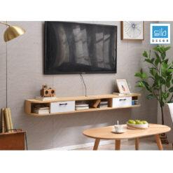 Chiếc kệ tivi đơn giản mà đẹp cho phòng khách