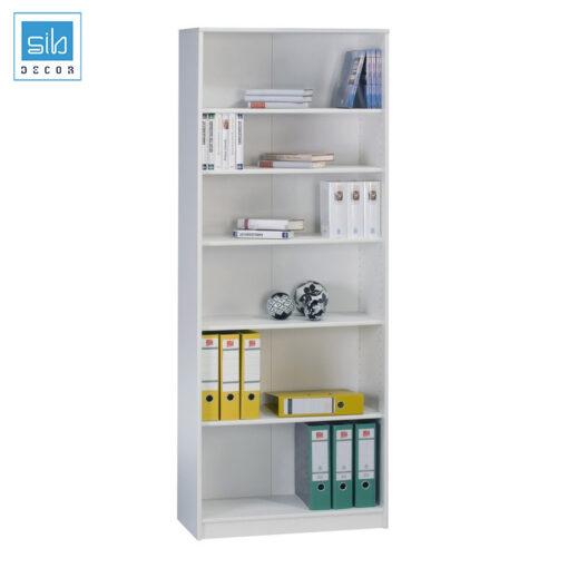 Kệ có các ngăn đợt ngang di động, dễ dàng điều chỉnh để phù hợp với chiều cao từng loại tài liệu, hồ sơ
