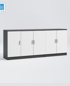 Tủ hồ sơ 200x80x40cm (gồm 2 tủ ghép lại)