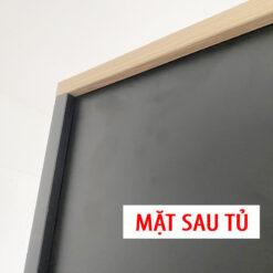 Mặt sau của tủ tài liệu được xử lý đẹp, đảm bảo sử dụng lâu bền.