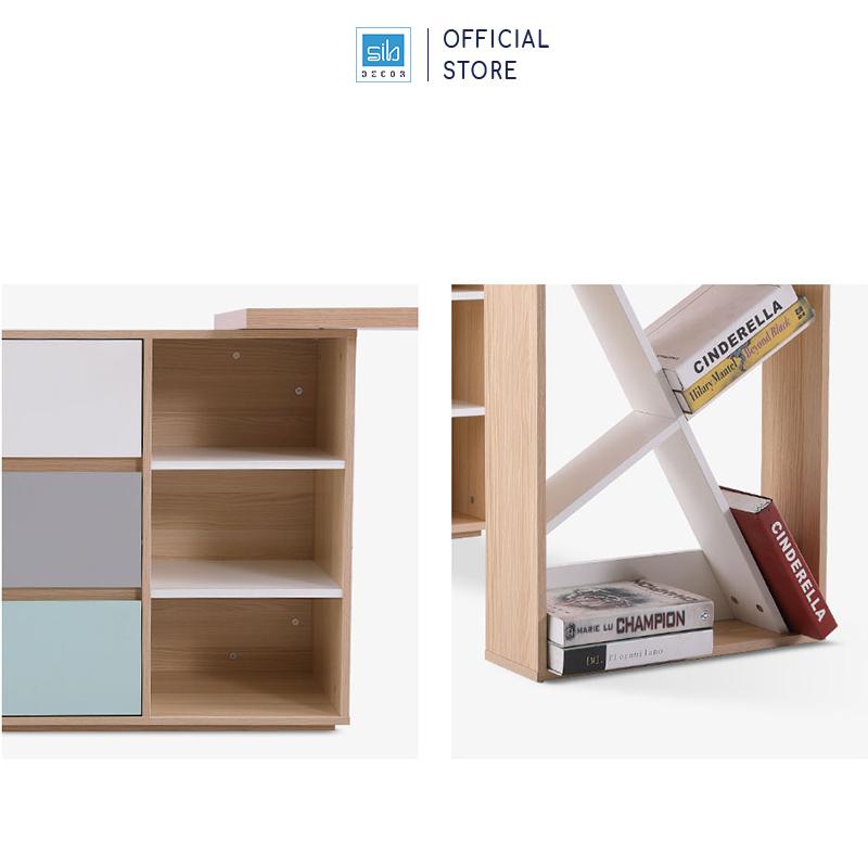 Các ngăn để sách tiện lợi và độc đáo