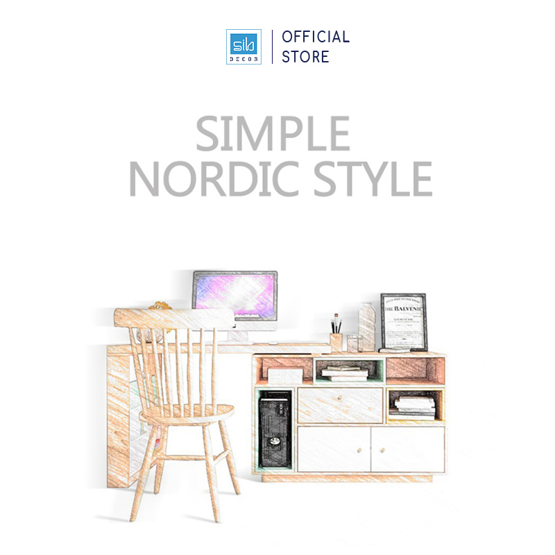 Simple Nodric Style (Phong cách Bắc Âu)