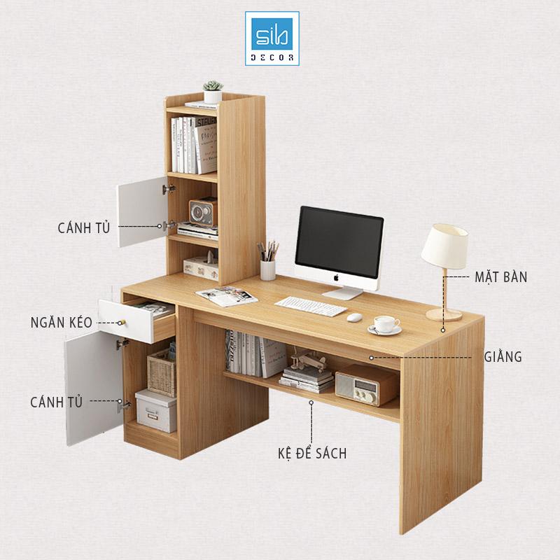 Nhiều ngăn kệ được thiết kế vừa đẹp vừa tối ưu công năng sử dụng