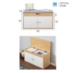 Kích thước chi tiết tủ giày đa năng TG15